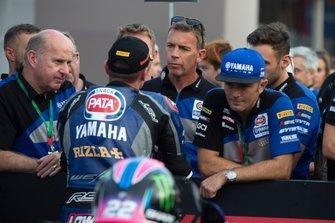 Eric de Seyes, Alex Lowes, Pata Yamaha, Paul Denning