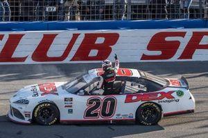 Race Winner: Harrison Burton, Joe Gibbs Racing, Toyota Supra