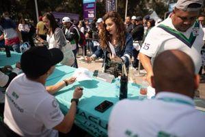 Mashhur Bal Hejaila, Saudi Racing signs autographs for fans