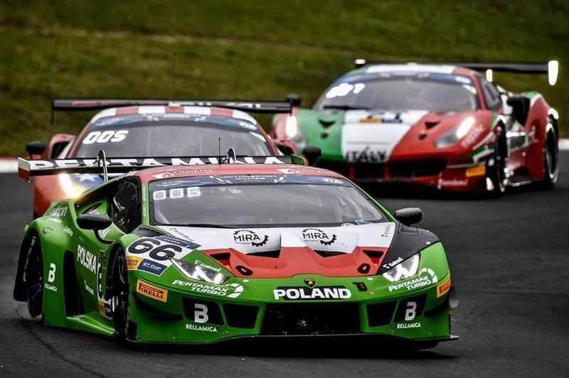 Artur Janosz, Andrzej Lewandowski, Lamborghini Huracán GT3 Evo
