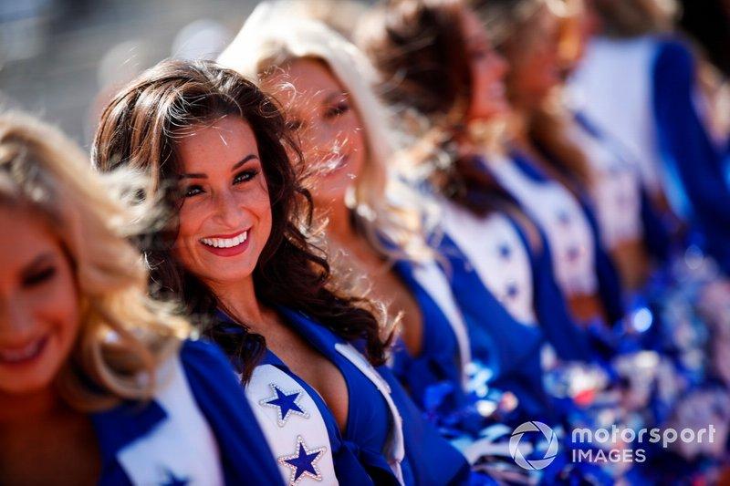 Las Dallas Cowboys Cheerleaders