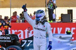Pole sitter Valtteri Bottas, Mercedes AMG W10