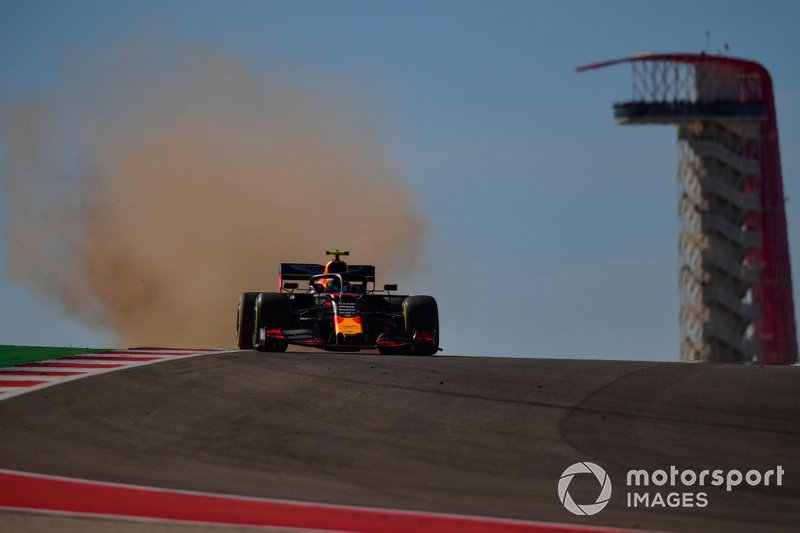 5º: Alex Albon, Red Bull Racing RB15