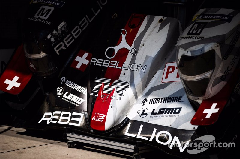 #1 Rebellion Racing Rebellion R13 - Gibson, dettagli