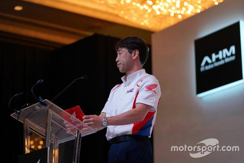 Tetsuhiro Kuwata, Director de HRC y Director General de la División de Gestión de Operaciones de Carreras
