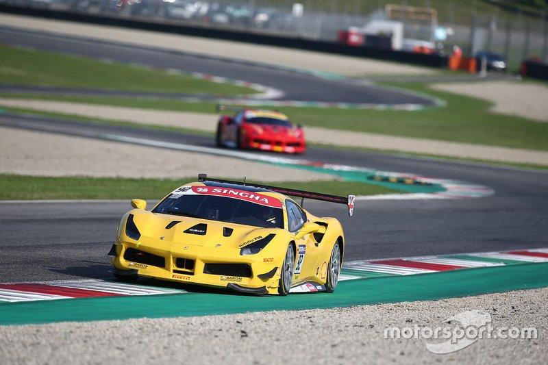 #92 Ferrari 488 Challenge, Baron Motorsport: Sam Smeeth