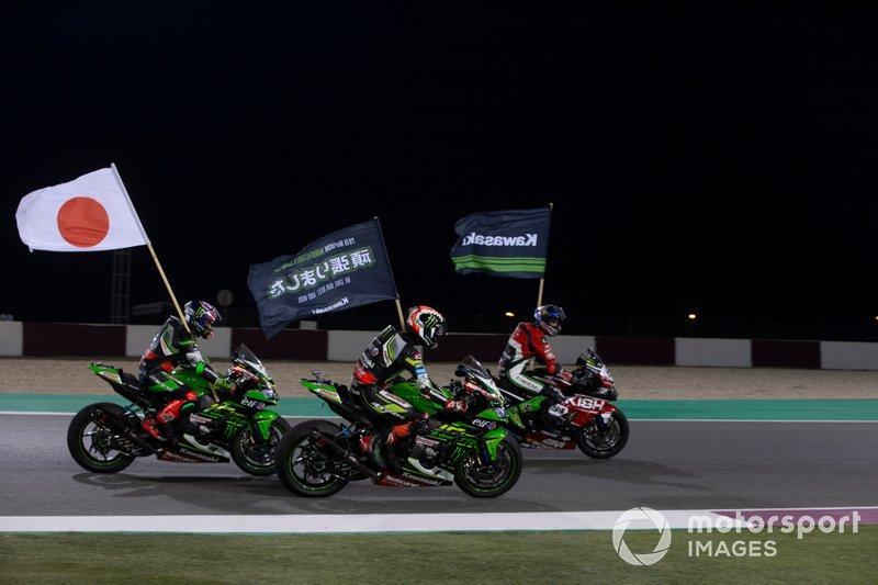 Kawasaki gana el título de fabricante