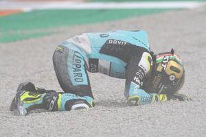 Lorenzo Dalla Porta, Leopard Racing after his crash