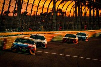 NASCAR-Finalteilnehmer 2019 in Homestead: Kyle Busch, Denny Hamlin, Martin Truex Jr., Kevin Harvick