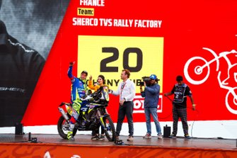 #20 Sherco TVS Rally Factory: Johnny Aubert