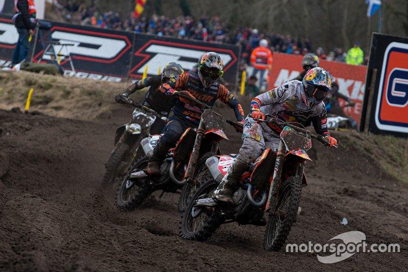 Jeffrey Herlings, Red Bull KTM Factory Racing y Jorge Prado, Red Bull KTM Factory Racing
