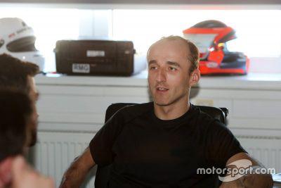 Kubica BMW Motorsport Prueba de simulador
