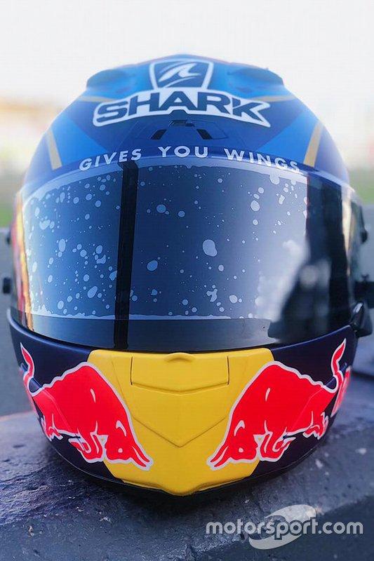 Primer casco de Jorge Lorenzo, Repsol Honda Team