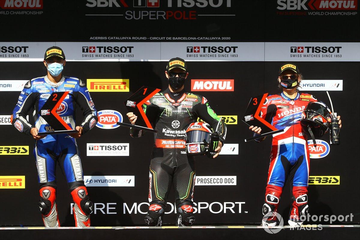 Toprak Razgatlioglu, Pata Yamaha, Jonathan Rea, Kawasaki Racing Team, Alvaro Bautista, Team HRC complete qualifying