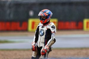 Sturz: Tom Sykes, BMW Motorrad WorldSBK Team