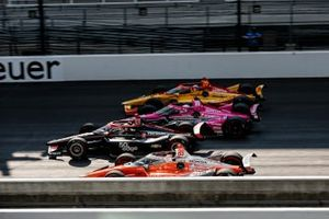 Will Power, Team Penske Chevrolet, Jack Harvey, Meyer Shank Racing Honda, Ryan Hunter-Reay, Andretti Autosport Honda, James Hinchcliffe, Andretti Autosport Honda