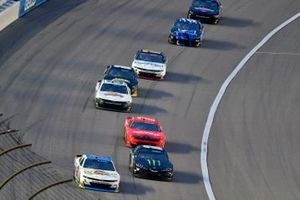 Anthony Alfredo, Richard Childress Racing, Chevrolet Camaro Andy's Frozen Custard and Riley Herbst, Joe Gibbs Racing, Toyota Supra Monster Energy