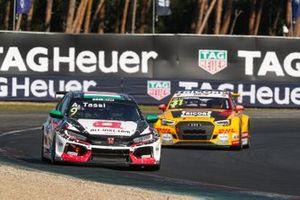 Attila Tassi, ALL-INKL.DE Münnich Motorsport Honda Civic TCR, Tom Coronel, Comtoyou DHL Team Audi Sport Audi RS3 LMS