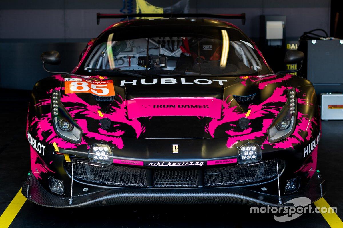 #85 Iron Lynx - Ferrari 488 GTE Evo: Manuela Gostner, Rahel Frey, Michelle Gatting
