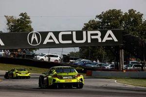 #12 AIM Vasser Sullivan Lexus RC-F GT3, GTD: Frankie Montecalvo, Townsend Bell, #14 AIM Vasser Sullivan Lexus RC-F GT3, GTD: Jack Hawksworth, Aaron Telitz