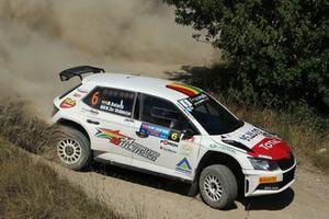 Marco Bulacia Wilkinson, Marcelo Der Ohannesian, Meteco Corse, Skoda Fabia R5