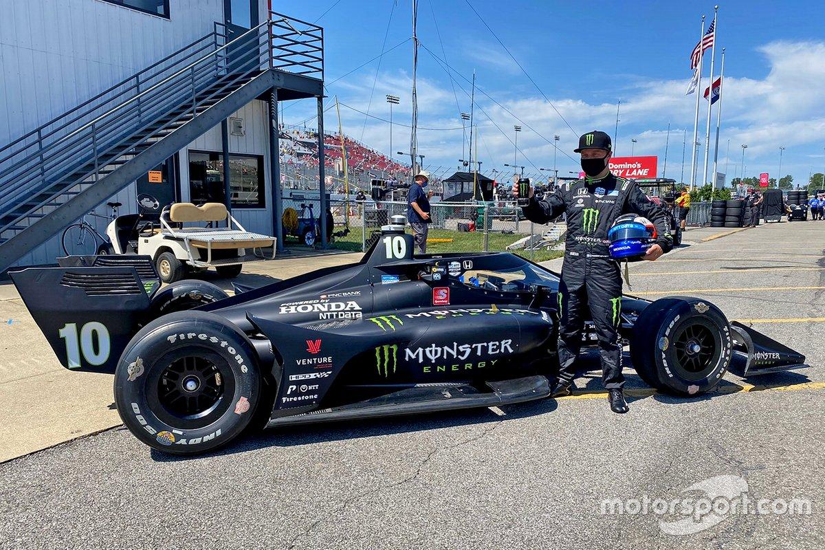 Felix Rosenqvist, Chip Ganassi Racing Honda Monster