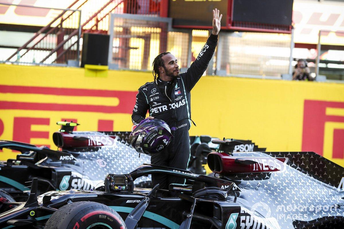 Ganador Lewis Hamilton, Mercedes-AMG F1