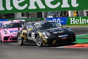 Florian Latorre, CLRT, leads Dylan Pereira, BWT Lechner Racing