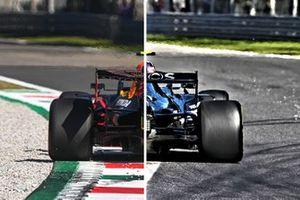 Mercedes F1 W11 vs Red Bull Racing RB16 comparison