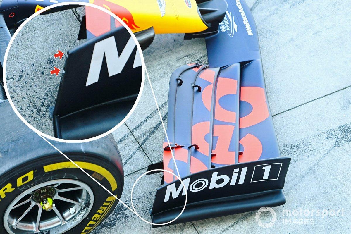 Red Bull RB16: Frontflügel