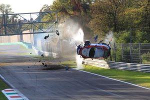 L' incidente di Adriano Pan, Ombra Racing, Porsche 991 4.0