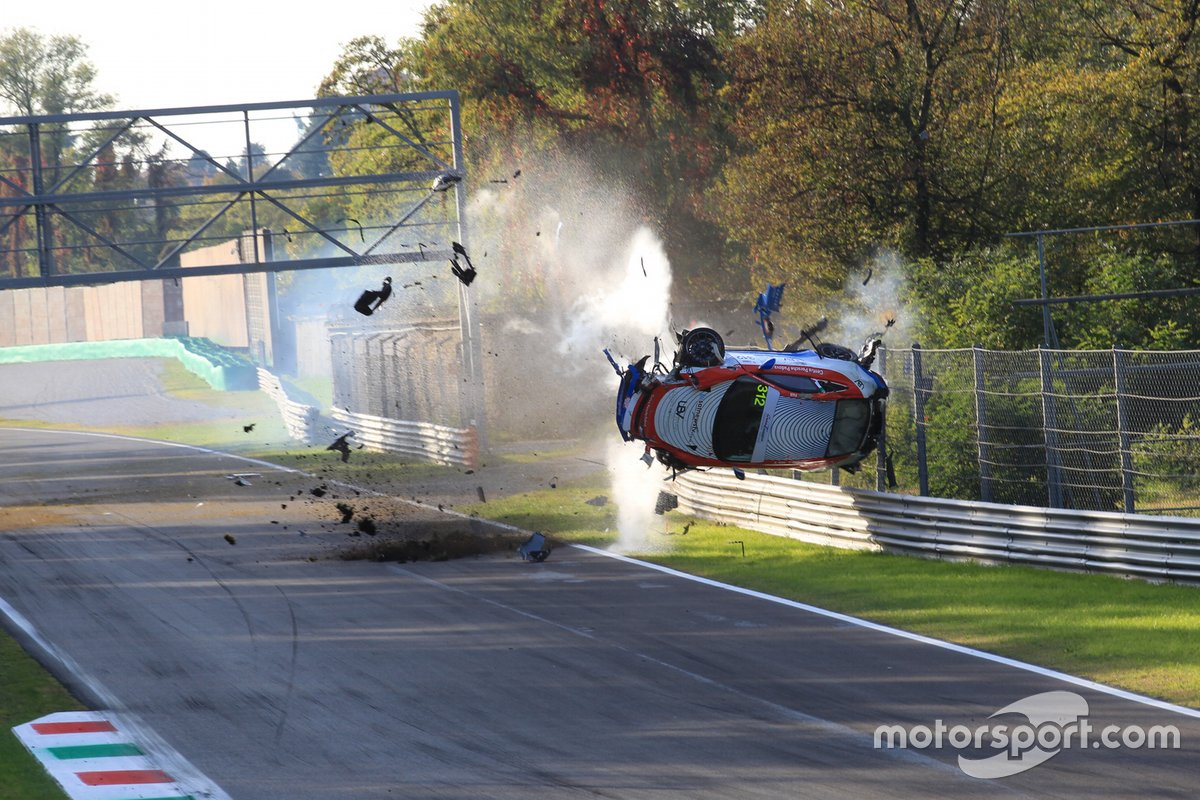 L' incidente di Adriano Pan, Ombra Racing, Porsche 991 4.0