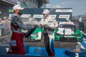 Podium: Nico Müller, Audi Sport Team Abt Sportsline, Marco Wittmann, BMW Team RMG
