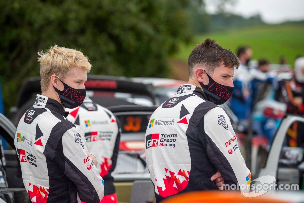Kalle Rovanperä, Toyota Gazoo Racing, Elfyn Evans, Toyota Gazoo Racing