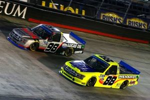 Grant Enfinger, ThorSport Racing, Ford F-150 ADS/Lucas Oil, Matt Crafton, ThorSport Racing, Ford F-150 Great Lakes Flooring/Menards