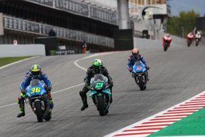 Joan Mir, Team Suzuki MotoGP, Franco Morbidelli, Petronas Yamaha SRT