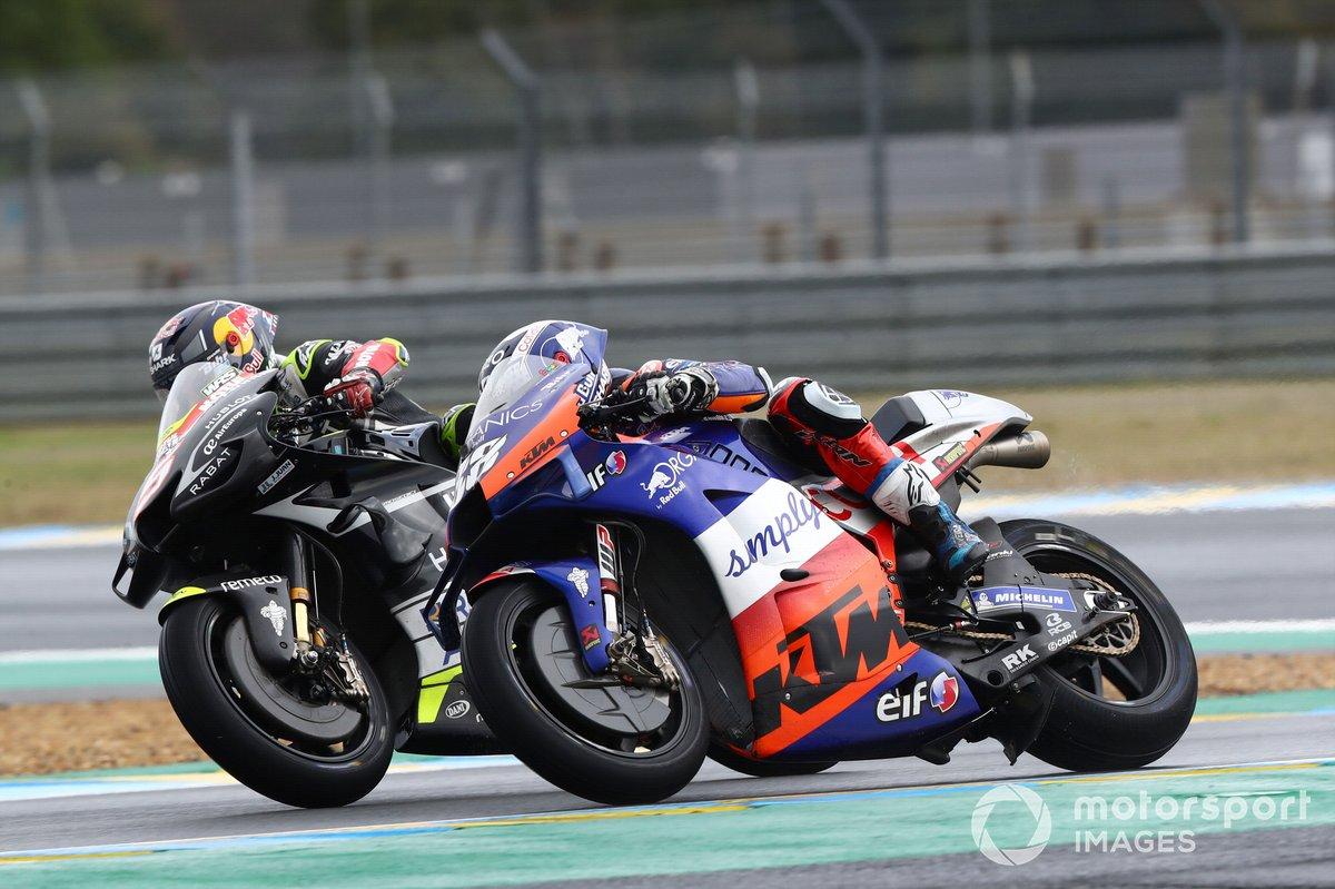 Miguel Oliveira, Red Bull KTM Tech 3, Johann Zarco, Avintia Racing