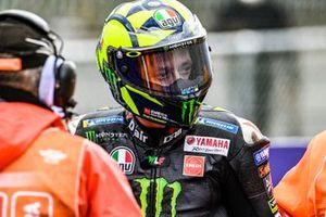 Sturz: Valentino Rossi, Yamaha Factory Racing