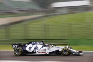 Yuki Tsunoda, Honda Formula Dream Project, AlphaTauri testi yapıyor