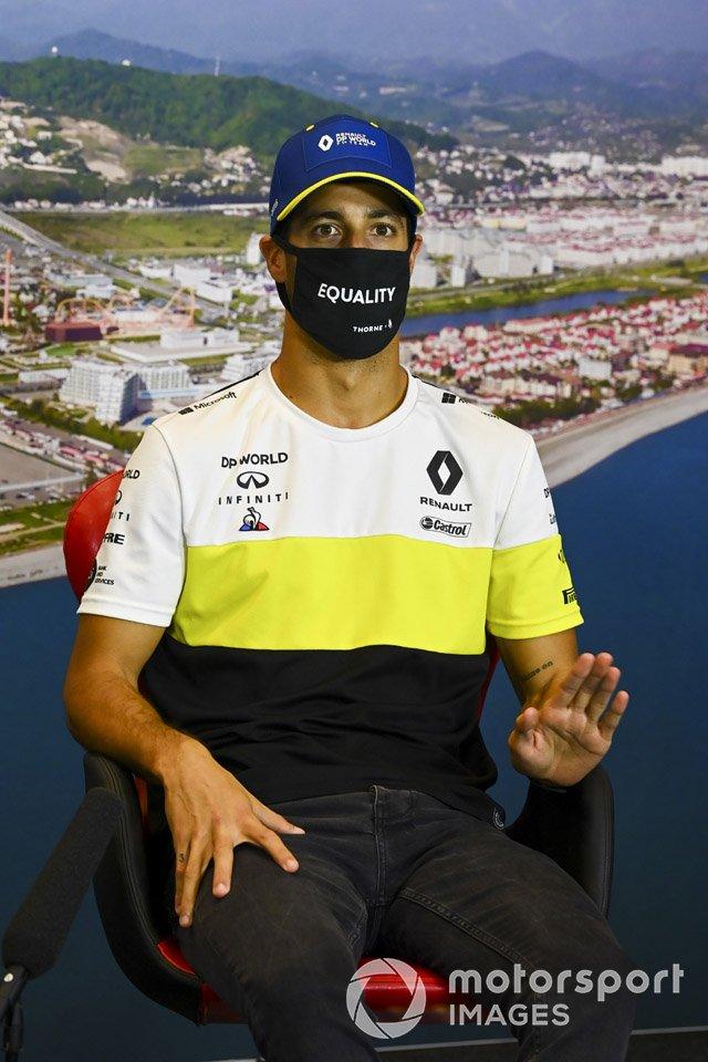 Daniel Ricciardo, Renault F1 in conferenza stampa
