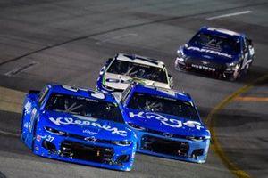 Ryan Preece, JTG Daugherty Racing, Chevrolet Camaro Kleenex and Ricky Stenhouse Jr., JTG Daugherty Racing, Chevrolet Camaro Kroger