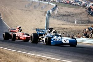 Jackie Stewart, Tyrrell 003 Ford, Ronnie Peterson, March 711 Ford