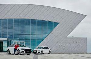 Keszthelyi Vivien, Audi RSQ8, Audi A3