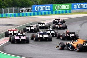 Guilherme Samaia, Campos Racing and Jehan Daruvala, Carlin
