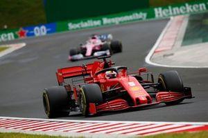 Sebastian Vettel, Ferrari SF1000, Sergio Pérez, Racing Point RP20