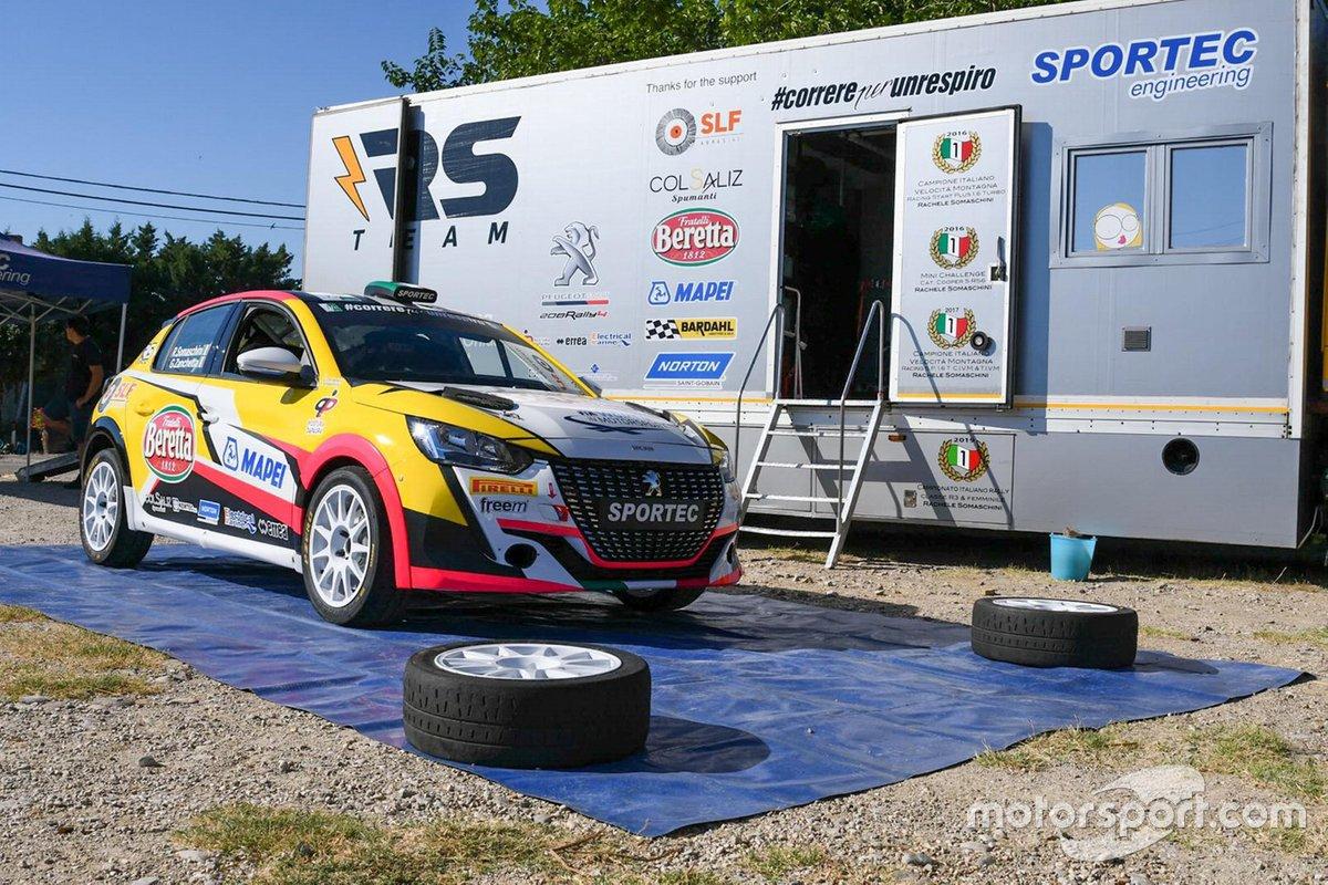 Rachele Somaschini, Giulia Zanchetta, RS Team, Peugeot 208 Rally4