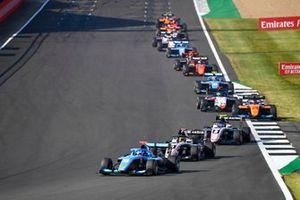 Matteo Nannini, Jenzer Motorsport, Sebastian Fernandez, ART Grand Prix and Alexander Smolvar, ART Grand Prix