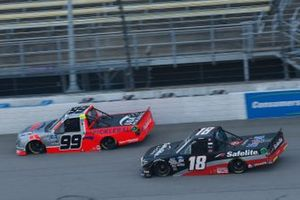 Christian Eckes, Kyle Busch Motorsports, Toyota Tundra Safelite AutoGlass Ben Rhodes, ThorSport Racing, Ford F-150 USA Pickleball