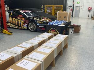 Medical equipment produced by Erebus Motorsport