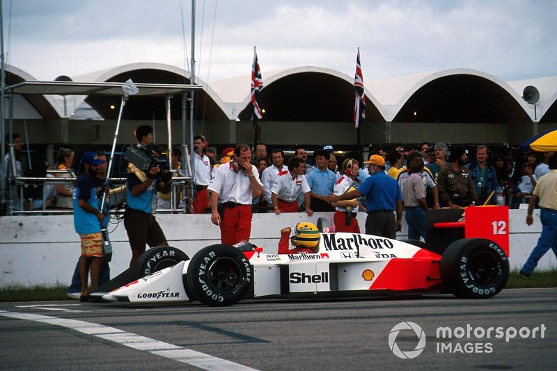 Ayrton Senna, McLaren, Ron Dennis, Mclaren Chief Executive